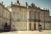 Copenhagen Amalienborg Castle.