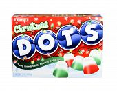 Box Of Tootsie Christmas Dots