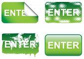 Decorative Enter Sign