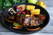 Grilled Lamb steak