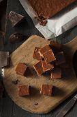 Homemade Dark Chocolate Fudge