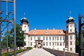 Mnisek pod Brdy castle, Czech republic