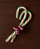 Candy Canes In A Bow