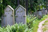 Old jewish cementery (UNESCO), Trebic,  Moravia, Czech republic, Europe