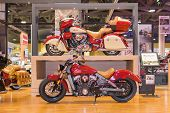 Indian Motorcycles  On Display