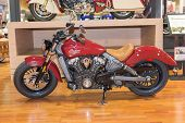 Indian Motorcycle Scout 2015
