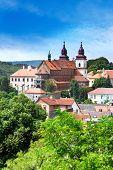 romanesque St. Procopius basilica, Trebic (UNESCO), Czech republic