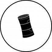 money roll symbol