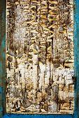 Shabby Wooden Textured Background