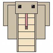 vector symbol animal snake