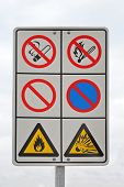 Flammable Warning