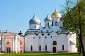 Cathedral Piously Of Sofia In Great Novgorod