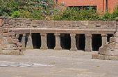 Roman bath ruins, Chester.