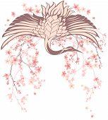 Spring Crane Bird