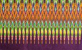 Texture Of Thai Silk Fabric