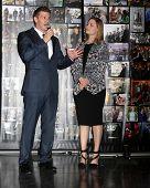 LOS ANGELES - NOV 14:  David Boreanez, Emily Deschanel at the