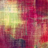 Old texture with delicate abstract pattern as grunge background. With different color patterns: green; purple (violet); orange; red; yellow