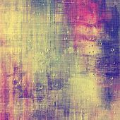Old retro vintage texture. With different color patterns: yellow; red; blue; purple (violet)