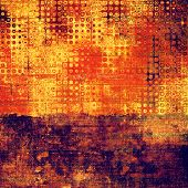 Aged grunge texture. With different color patterns: purple (violet); orange; red; brown; yellow