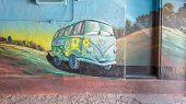 Route 66: Fillmore Mural, Blue Swallow Motel, Tucumcari, NM