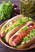 Hot Dogs In The Bun