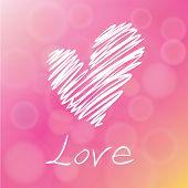 Love Greeting Card Design