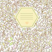 Notebook Design Brunch Hand Drawn