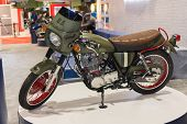 Custom American Military Motorcycle