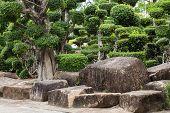 Pattaya, Thailand - August 17: Japanese Garden