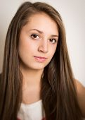 Beautiful Young Teenage Girl