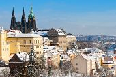 Prague Castle And Lesser Town, Prague (unesco), Czech Republic