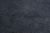 Black Texture Of New Asphalt