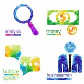 Analysis, Money, Bubble Speach, Business Man