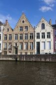Architecture Of Bruges, West Flanders, Belgium