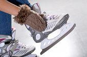 Putting On Ice Skates