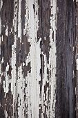 Old Peeled Off Wooden Planks Surface Background