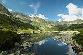 Valley of five ponds in the Polish Tatras