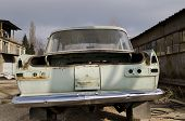 Old Dilapidated Car