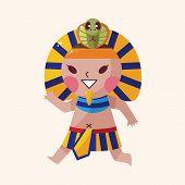 foto of pharaoh  - Pharaoh Theme Elements Vector - JPG