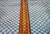 picture of bunk-bed  - Abstract image of a prison window - JPG