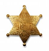 Sheriff Badge mit Pfad