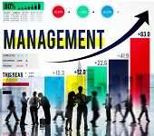 foto of role model  - Management Organization Leadership Managing Concept - JPG
