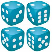 Dice with 2