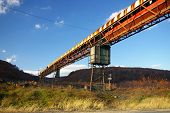 Verlassene Mine Conveyor