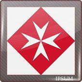 foto of maltese-cross  - Logo for Church - JPG
