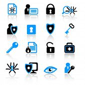 anti-virus icons