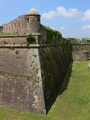 Fort With Dry Moat