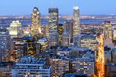 Montreal, Canada By Night