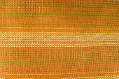 Orange Weave For Background Texture