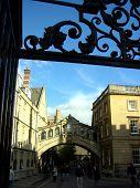 Bridge Of Sighs, Oxford, Uk